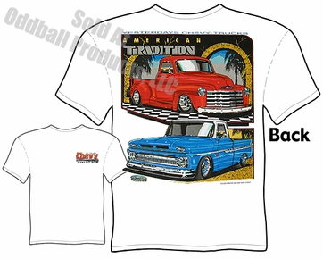 47-53 Chevy Pickup T Shirt 62-66 Chevrolet Trucks Tee