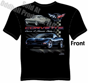 Corvette - Carve A Classic Path T-shirt