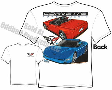 97-04 Corvette T Shirt 1997-2004 Chevrolet C5 Corvette Apparel