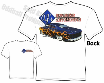 Custom Cars - Lead Sled 1950 Ford T-shirt