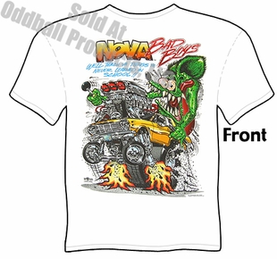 Rat Fink T Shirt Ed Big Daddy Roth Tee 62 63 64 Nova Bad Boys