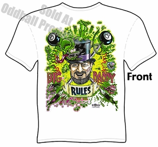 Ed Roth Clothing Big Daddy Tee Ed Roth Tribute T Shirt
