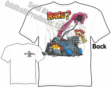 Rat Fink T Shirt Race? Ed Roth Tee Big Daddy Roth Clothing