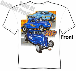 Hot Rod T Shirt Vintage Drag Racing Tee 41 Willys Clothing