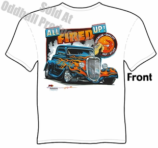 33 34 Ford Coupe T Shirt 1933 1934 Hot Rod Clothing Tee