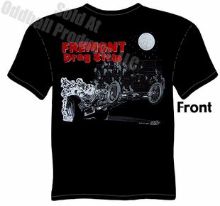 Fremont Drag Strip T Shirt Vintage Drag Racing Tee