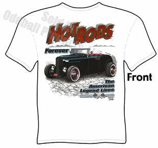 1932 Hot Rod T Shirt 32 Ford Roadster Tee
