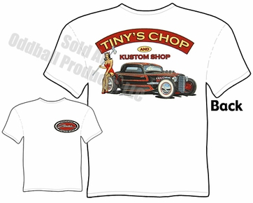 33 34 Ford T Shirt 1933 1934 Hot Rod Clothing Pinup Girl Tee