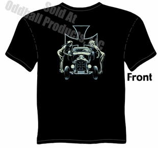 1928 1929 Ford T Shirt 28 29 Hot Rod Tee Roadster Psychobilly
