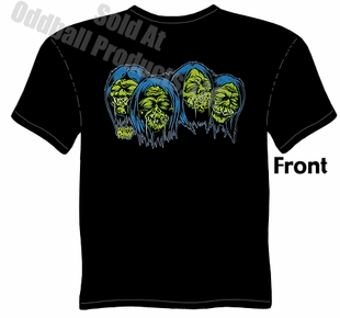 Shrunken Heads T Shirt Kustom Kulture Tee Garage Clothing