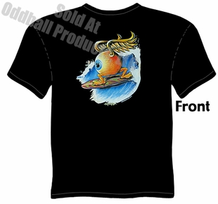 Surfing Eyeball T Shirt Kustom Kulture Clothing Garage Tee