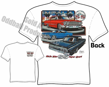 Muscle Cars - 63, 64, 65 Super Sport Impala T-shirt
