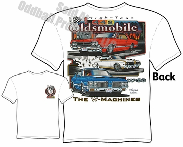 Muscle Cars - 66 - 72 Oldsmobile Cutlass 442 T-shirt