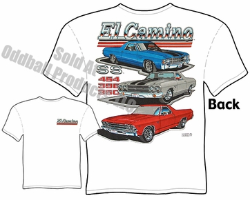 Muscle Cars - 68 - 72 El Camino T-shirt