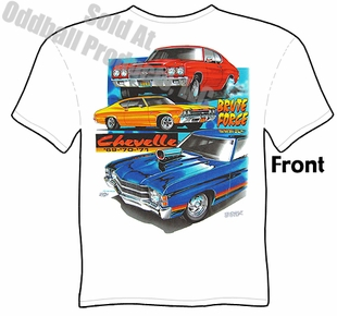 Muscle Cars - 69, 70, 71 Chevelle T-shirt
