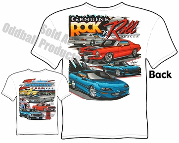 Muscle Cars - Chevrolet Camaro T-shirt