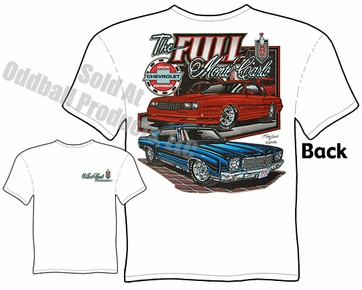 Muscle Cars - Chevy 70, 71, 72 Monte Carlo T-shirt