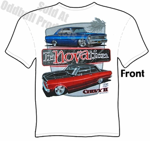 Muscle Cars - Innovation Chevy II Nova T-shirt