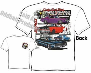 Muscle Cars - Mopar, Chrysler, Plymouth, Dodge T-shirt