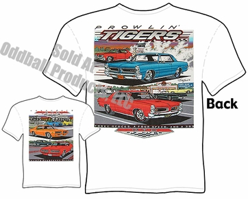 1964-1972 GTO T Shirt 64 65 66 67 68 69 70 71 72 Pontiac Clothing