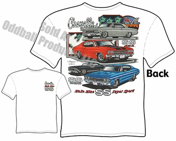 Muscle Cars - SS 396 Chevelle / SS 454 Chevelle T-shirt