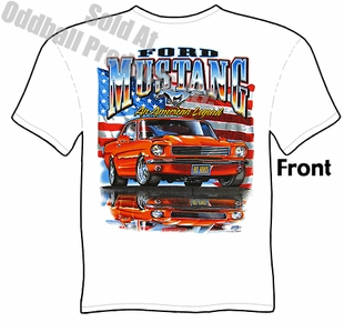 Mustang - American Legend White T-shirt