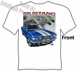 1965 1966 1967 Mustang T Shirt American Original 65 66 67 Ford Clothing