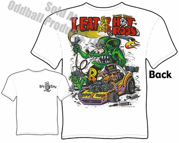 Rat Fink Shirts Ed Roth T Shirts Eat Sleep Drink Hot Rods Big Daddy Apparel