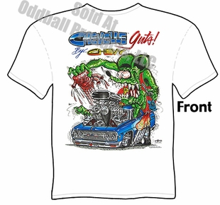 Rat Fink T-Shirt Big Daddy T 65 Chevelle Guts Ed Big Daddy Roth Tee