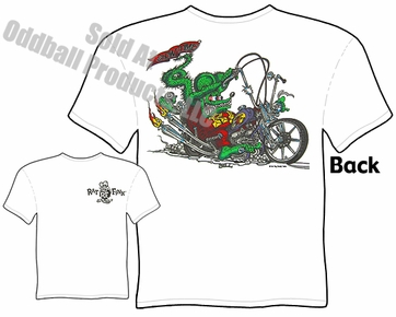 Rat Fink T Shirt Ed Roth T Shirt Chopper Showtime Big Daddy Apparel