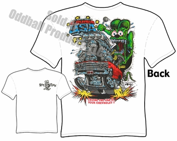 Rat Fink T Shirts 1967 Chevelle Cruisin The USA Big Daddy Tee