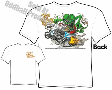 Ratfink T Shirts Ed Roth Outlaw Tales Of The Fink Tee