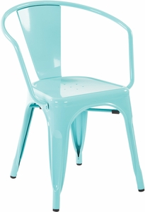 "30"" Metal Chair In Mint Green 4-Pack [PTR2830A4-16]"