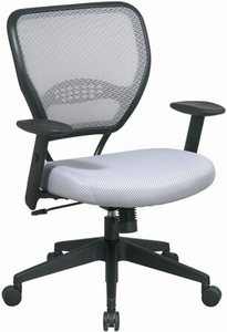 Space Seating Air Grid Shadow Mesh Office Chair [55-M22N17]