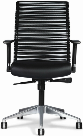 All Seating Mesh Back ZIP Chair [95040]  sc 1 st  Office Chairs Unlimited & Allseating Mesh Back ZIP Chair 95040 with Bungee Cord Back
