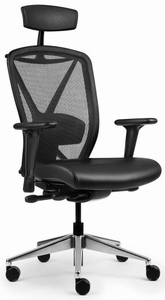 Allseating Fluid Premium Mesh Desk Chair [81040]