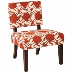 Ave Six Jasmine Accent Chair Peninsula Saffron Jas P6