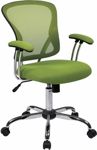Ave Six Juliana Task Chair in Green Mesh [JUL26-6]