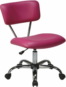 Ave Six Vista Task Office Chair In Pink Vinyl [ST181-V355]