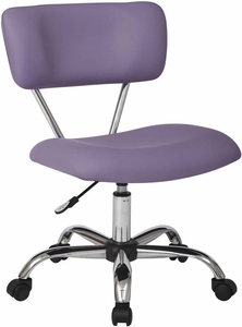 Ave Six Vista Task Office Chair In Purple Faux Leather [ST181-U512]