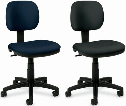 Delighful Armless Task Chair 56024 With Decorating