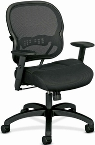 Basyx Mesh Mid Back Office Chair [VL712]