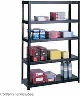 "Boltless Shelving 48 x 18"" Black [5246BL]"
