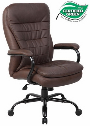 Boss Heavy Duty Executive Office Chair In Black Or Brown [B991]