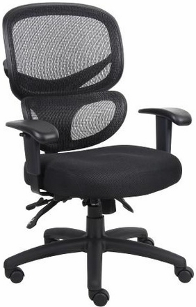 boss contemporary ergonomic mesh back office chair b6338 free