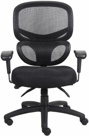 boss contemporary, ergonomic mesh back office chair [b6338] free