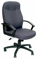 Boss Executive Black Fabric Office Chair [B8801]