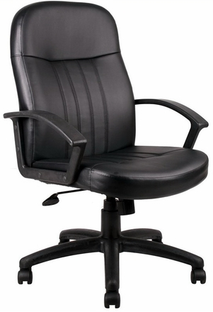 Nice Boss Full Back Leather Desk Chair [B8106]