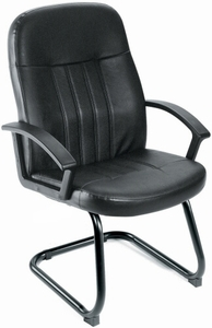 Exceptionnel Boss Guest Chair With Sled Base [B8109]