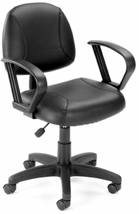 Boss LeatherPlus Task Chair [B305]